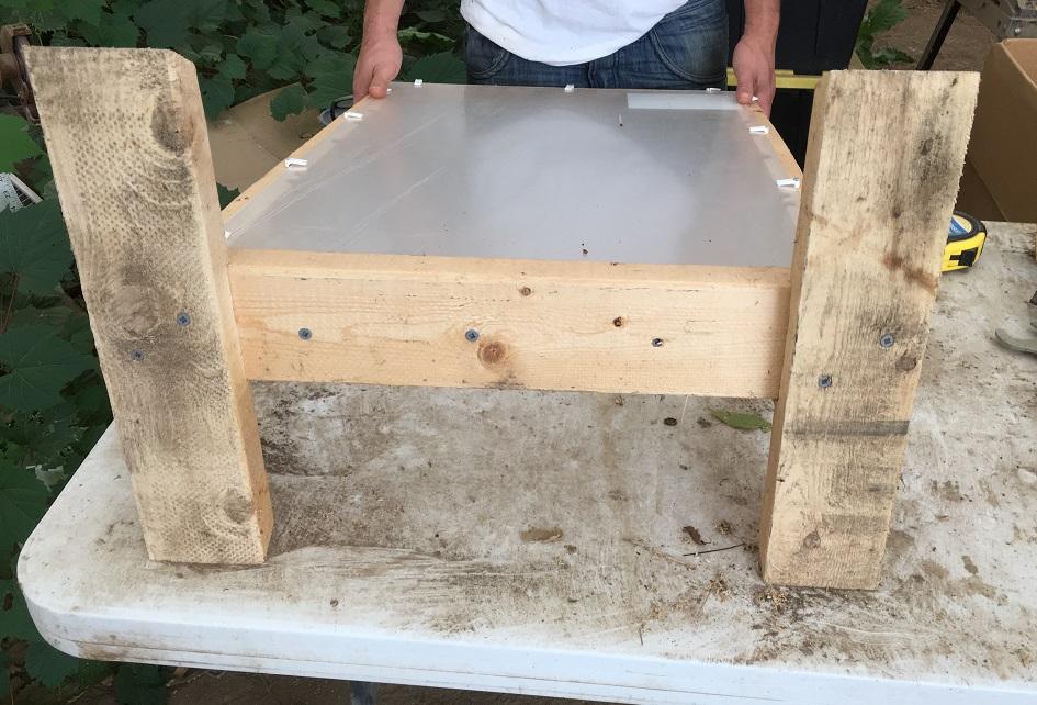 Observation hives, Michael Bush